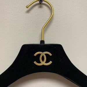 CHANEL Accessories - Chanel velvet hanger